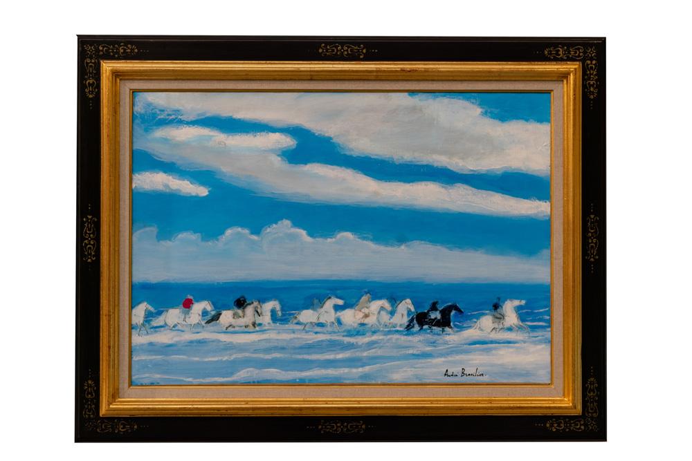 Camargue Oil on canvas