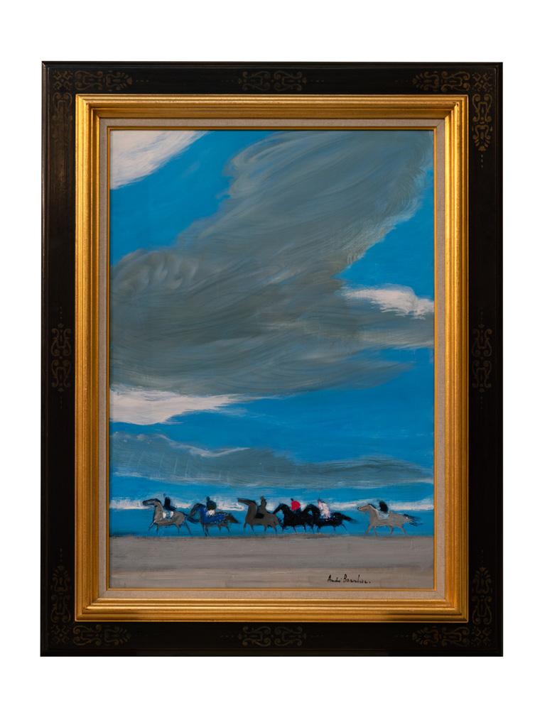Grand Ciel Oil on canvas
