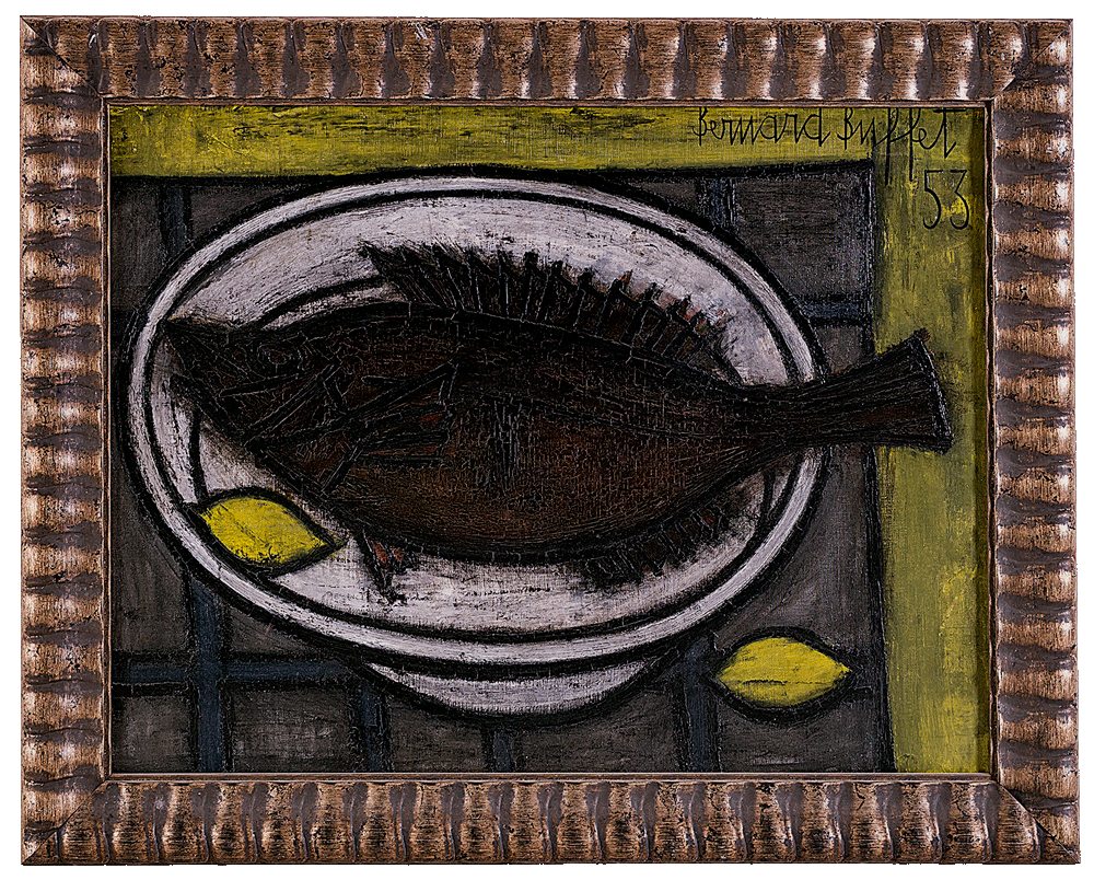 Still Life with Sole and Lemons
