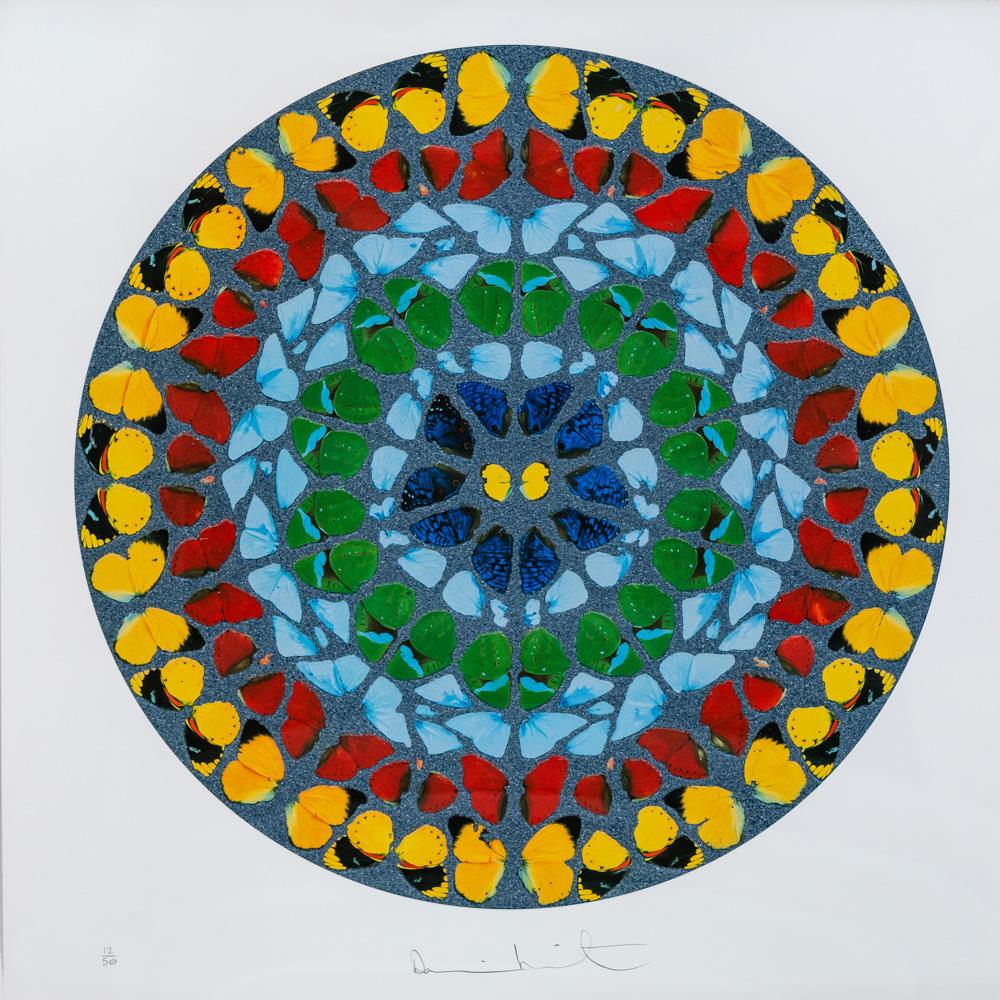 Damien Hirst Screen Print circle