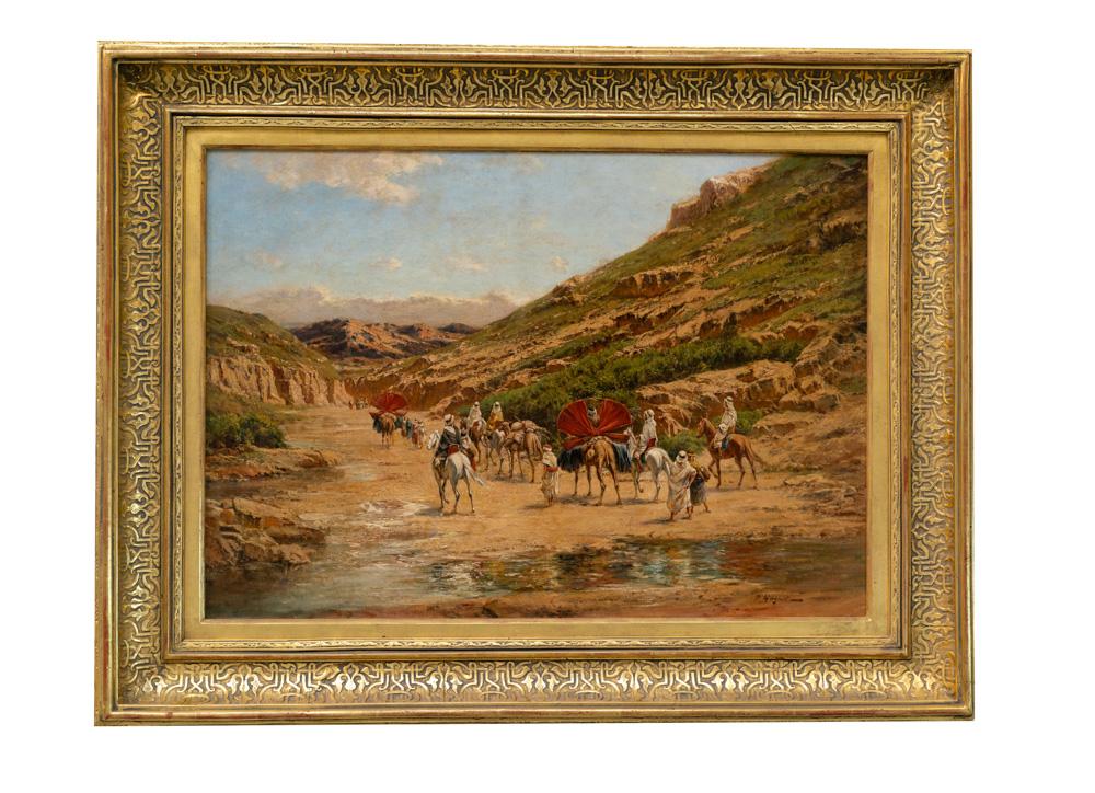 desert Oil on Canvas