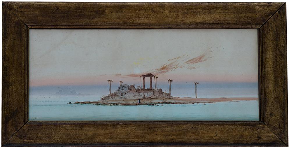 watercolour on paper augustus osborne